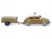 Wiking 03001 VW Brouk 1200 s jednonápravovým vlekem Schlotmann