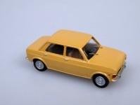 V&V 1783 Fiat 128 1969 4-dvéřový žlutý