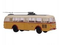 RA Došlý 120507 Škoda Tr 8 oranžový/bílý, 3x4-dílné dveře Opava