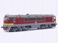 motorová lokomotiva T 679.0025 ČSD Pomeranč