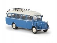 Brekina 58001 Steyr 380/I Bus modrý/béžový