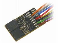 Zimo MX648 miniaturní zvukový decodér MX648 připojení 11 dráty