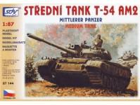 SDV 87144 T-54 AM2 střední modernizovaný tank