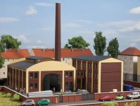 Auhagen 14475 tovární budovy