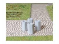 BDDP 23363 odpadkové koše z betonu 4ks