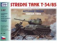 SDV 87135 T-34/85 vz. 1945, střední tank