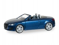 Herpa 038409 Audi TT Roadster modrá metalíza