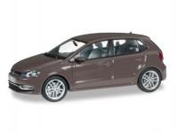 Herpa 070829 VW Polo 5-dvéřové hnědá metalíza