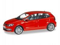 VW Polo 5-dvéřové červené