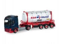 Herpa 917834 Volvo FH Gl.13 s cisternovým kontejnerem RSA Talke - doprodej