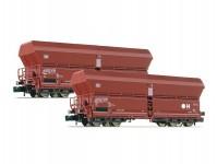 Fleischmann 852416 set výsypných vozů typ Falns 183 DB IV.epocha