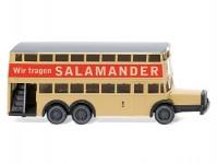 "Wiking 97303 Büssing D38 patrový autobus Berliner ""Salamander"""