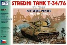 SDV 87155 střední tank T-34/76 vz. 1942