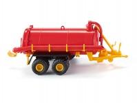 Wiking 38202 podtlakový vůz na močůvku červený/žlutý