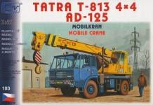 SDV 103 Tatra 813 4x4 AD-125, jeřáb