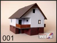 Atelier WEPE 10002 rodinný domek
