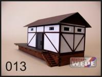 Atelier WEPE 10026 skladiště s rampou hrázděné