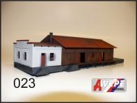 Atelier WEPE 10223 skladiště s kanceláří Čelákovice
