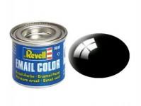 Revell 32107 barva Revell emailová - 32107: leská černá (black gloss)