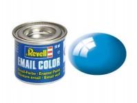 Revell 32150 barva Revell emailová - 32150: lesklá světle modrá (light blue gloss)