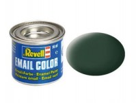 Revell 32168 barva Revell emailová - 32168: matná tmavě zelená (dark green mat RAF)