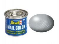 Revell 32190 barva Revell emailová - 32190: metalická stříbrná (silver metallic)