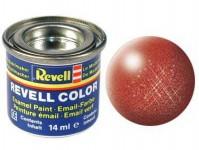 Revell 32195 barva Revell emailová - 32195: metalická bronzová (bronze metallic)