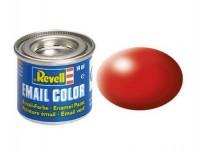 Revell 32330 barva Revell emailová - 32330: hedvábná ohnivě rudá (fiery red silk)