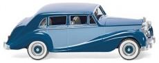 Wiking 83803 Rolls Royce Silver Wraith modrý