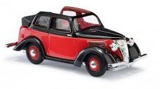 Busch 41204 Ford Eifel cabrio limuzína červený/černý