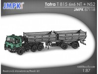 JMPK 87118K Tatra T 815 NT 6x6 + NS2 stavebnice