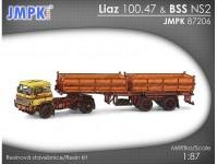 JMPK 87206K LIAZ 100.47 + BSS NS2 stavebnice