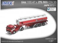 JMPK 87211K LIAZ 100.47 + BSS CN 35 stavebnice
