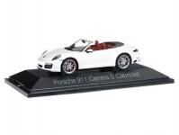 Herpa 070980 Porsche 911 Carrera cabrio II bílé