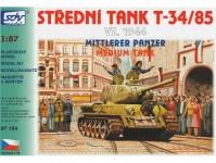 SDV 87154 T-34/85 vz. 1944, střední tank
