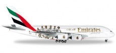 Herpa 529242 A380 Emirates - Real Madrid