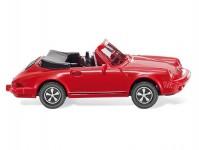 Wiking 16203 Porsche 911 SC Cabriolet červené