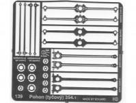 Detail 139 pohon (tyčový) 354.1 kovový lept