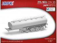 ZTS CN - 35 cisternový návěs