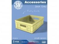Small Models 104a přepravky na pečivo (6 ks)