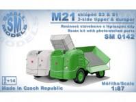 Small Models 0142k Multicar M21 sklápěč S1 & S3 stavebnice