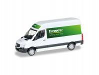 Herpa 092753 MB Sprinter 2013 Europcar