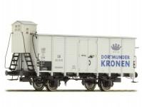 "Brawa 49041 pivní vůz ""Dortmunder Kronen"" DB III.epocha"