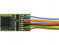 Roco 10894 dekodér připojení 8-pinovým rozhraním dle NEM652 s vodiči