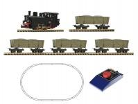 analogový start set s parní lokomotivou Nr.15 III-IV.epocha