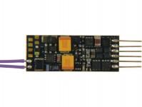 Fleischmann 687701 miniaturní zvukový dekodér 6-pinové rozhraní dle NEM651 přímo