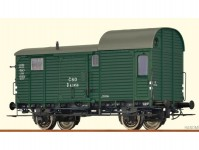 služební vůz k nákladnímu vlaku D ČSD III.epocha