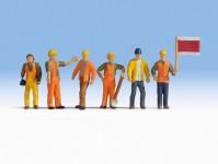 Noch 36277 traťový dělníci