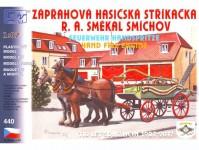 zápřahová stříkačka Smékal, SDH Zličín