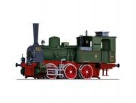 Tillig 04242 parní lokomotiva T3 K.P.E.V. I.epocha